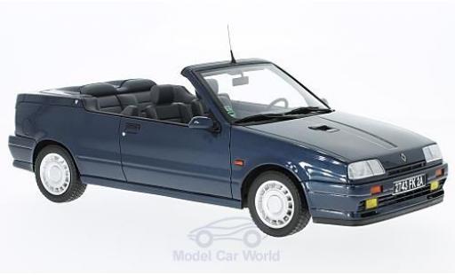 Renault 19 1/18 Ottomobile 16S Cabriolet metallic-bleue miniature