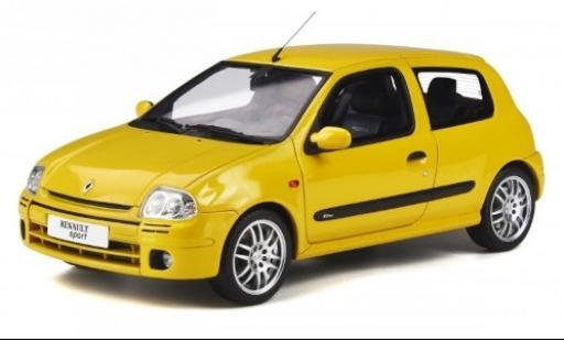 Renault Clio 1/18 Ottomobile 2 R.S. Phase 1 jaune 1999