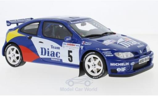 Renault Megane RS 1/18 Ottomobile Maxi Kit Car No.5 Rallye WM Rallye Tour de Corse 1996 P.Bugalski/J-P.Chiaroni diecast model cars