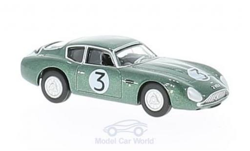 Aston Martin DB4 GT 1/76 Oxford Zagato No.3 Goodwood 2 VEV J.Clark miniature