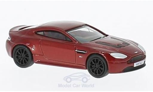 Aston Martin V12 Vantage 1/76 Oxford S Coupe metallise rouge RHD miniature