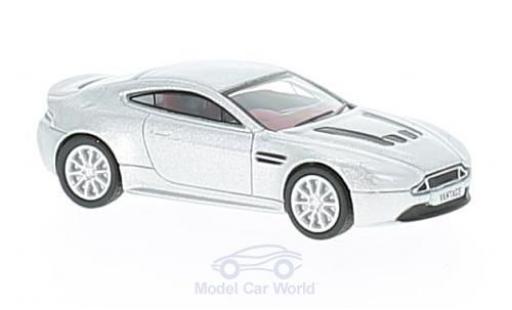 Aston Martin V12 Vantage 1/76 Oxford Vantage S grise miniature