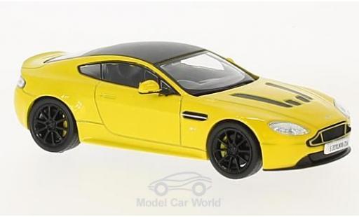 Aston Martin Vantage 1/43 Oxford S metallise yellow/black RHD diecast model cars