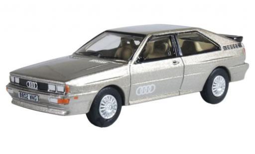 Audi Quattro 1/76 Oxford quattro metallise beige RHD diecast model cars