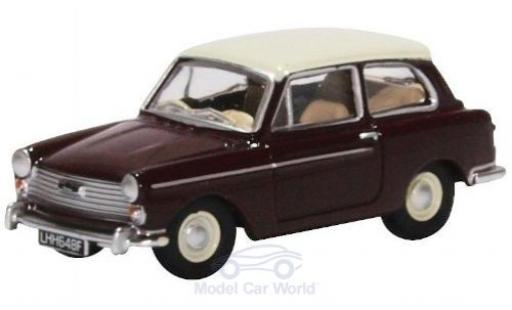 Austin A40 1/76 Oxford MKII rouge/beige miniature