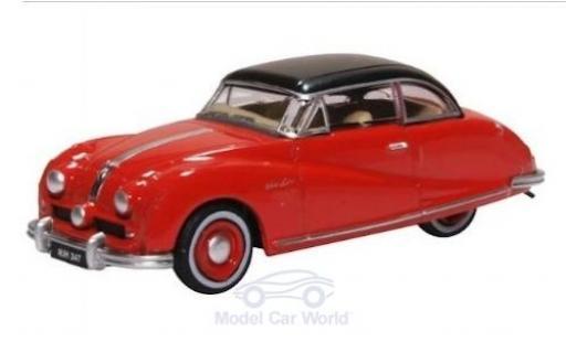 Austin Atlantic 1/76 Oxford Saloon rouge/noire miniature