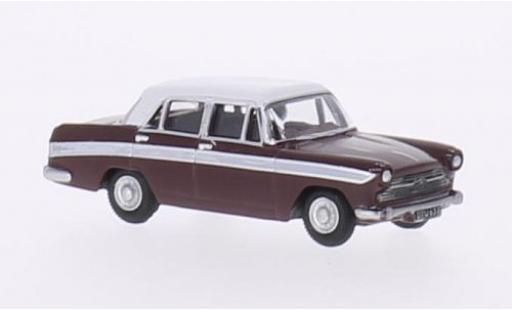 Austin Cambridge 1/76 Oxford A60 Farina rouge/blanche RHD miniature