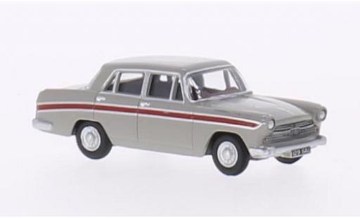 Austin Cambridge 1/76 Oxford grise/rouge RHD miniature