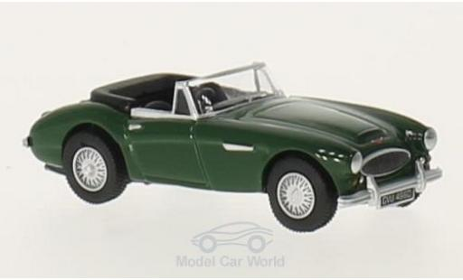 Austin Healey 3000 1/76 Oxford verte RHD miniature