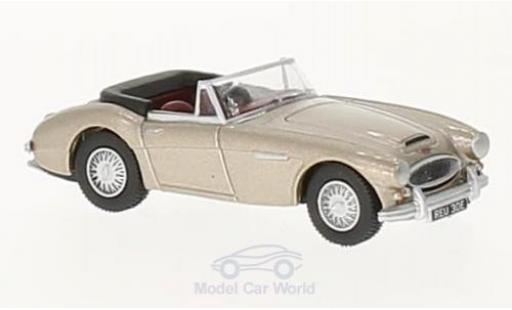 Austin Healey 3000 1/76 Oxford metallise beige miniature