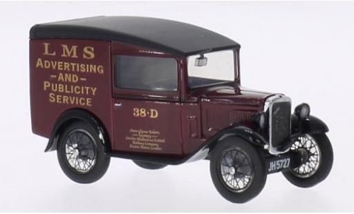 Austin Seven 1/43 Oxford RN Van RHD LMS miniature