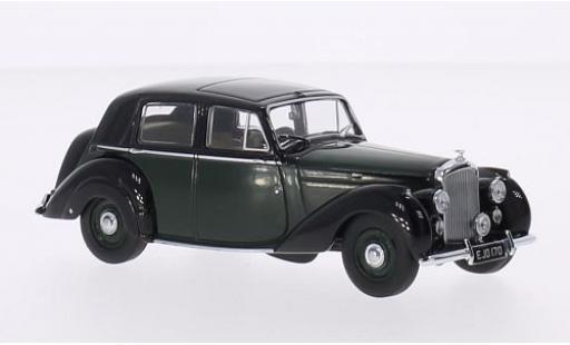 Bentley Mark 6 1/43 Oxford MK VI verte/noire RHD miniature