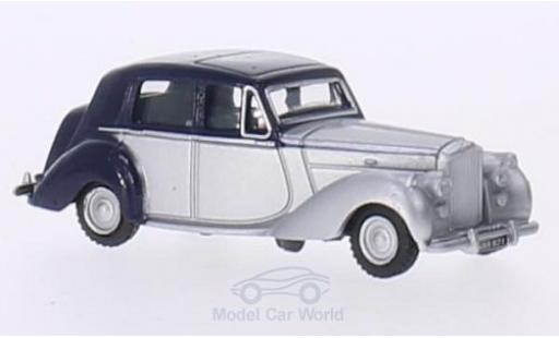 Bentley Mark 6 1/76 Oxford MkVI bleue/grise RHD miniature
