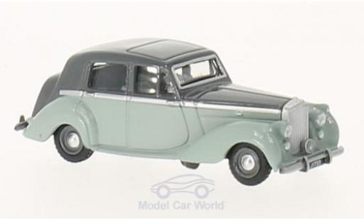 Bentley Mark 6 1/76 Oxford MkVI grise/verte RHD miniature