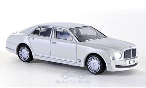 Bentley Mulsanne 1/76 Oxford bianco RHD modellino in miniatura
