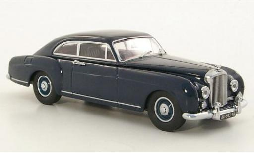 Bentley S1 1/43 Oxford Continental bleue miniature
