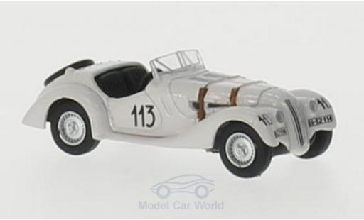 Bmw 328 1938 1/76 Oxford BMW RHD No.113 Mille Miglia 1938 A.Fane/B.James miniature