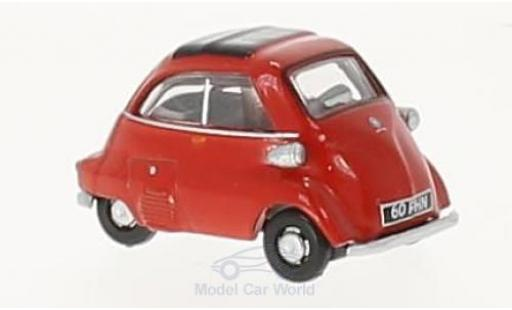 Bmw Isetta 1/76 Oxford rouge miniature