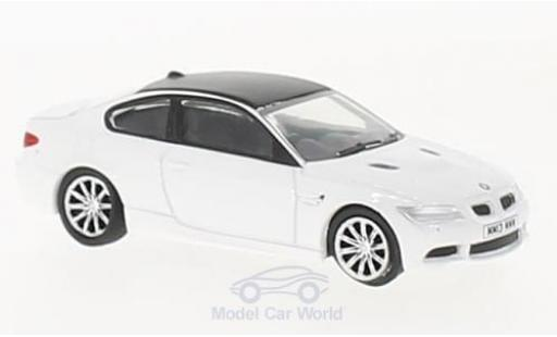 Bmw M3 1/76 Oxford (E92) Coupe white diecast model cars