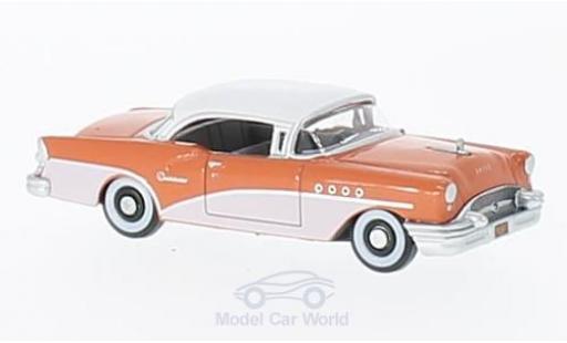 Buick Century 1/87 Oxford rose/blanche 1955 miniature