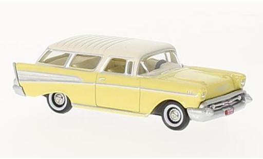 Chevrolet Nomad 1/87 Oxford jaune/beige 1957 miniature