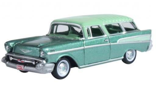 Chevrolet Nomad 1/87 Oxford metallise verte/turquoise 1957 miniature