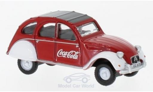 Citroen 2CV 1/76 Oxford RHD Coca Cola miniature