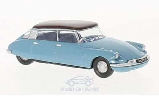 Citroen DS 19 1/76 Oxford bleue/lila miniature
