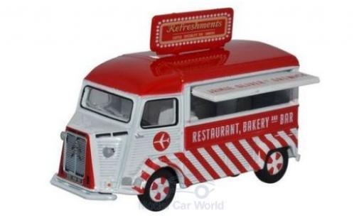 Citroen Type H 1/76 Oxford Catering Van Jamie Oliver at Gatwick miniature