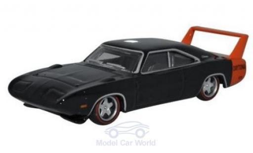 Dodge Charger 1/87 Oxford Daytona black 1969 diecast