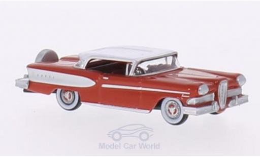 Edsel Citation 1/87 Oxford rouge/blanche 1958 miniature