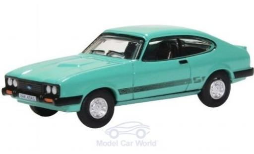Ford Capri 1/76 Oxford MKIII 3.0 S verte miniature