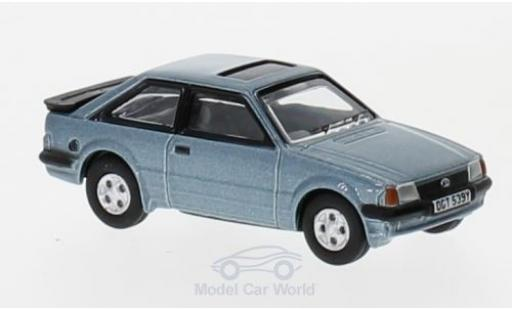Ford Escort 1981 1/76 Oxford MK III XR3i metallise bleue miniature