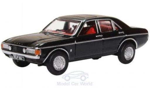 Ford Granada 1/76 Oxford MKI noire miniature