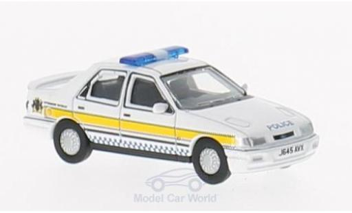 Ford Sierra Cosworth 1/76 Oxford RS Sapphire RHD Nottinghamshire Police miniature