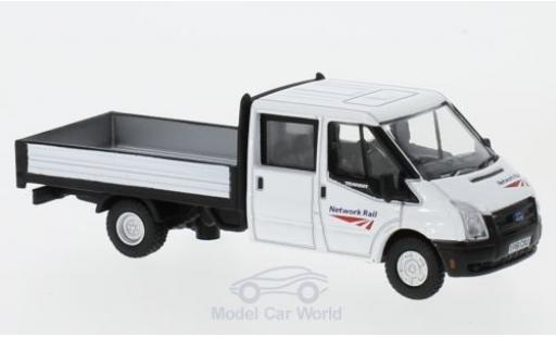 Ford Transit 1/76 Oxford Dropside Network Rail miniature