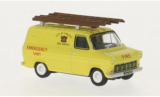 Ford Transit 1/76 Oxford Mk1 RHD City of Carlisle Fire Service miniature