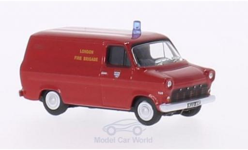 Ford Transit 1/76 Oxford Mk1 RHD London Fire Brigade miniature