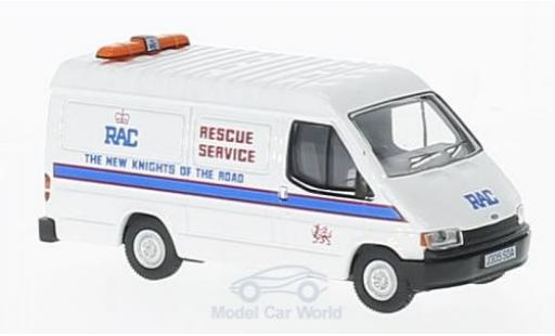 Ford Transit 1/76 Oxford Mk3 RAC Rescue miniature