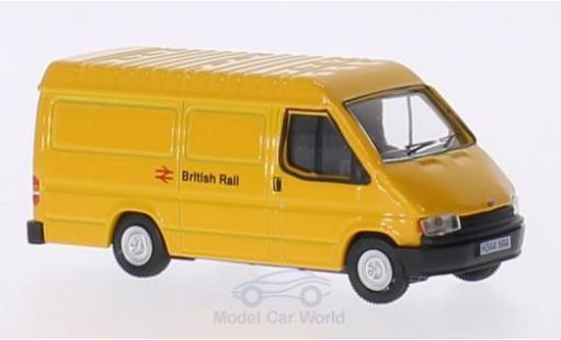 Ford Transit 1/76 Oxford Mk3 Van RHD British Rail miniature