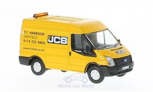 Ford Transit 1/76 Oxford MK5 SWB JCB miniature
