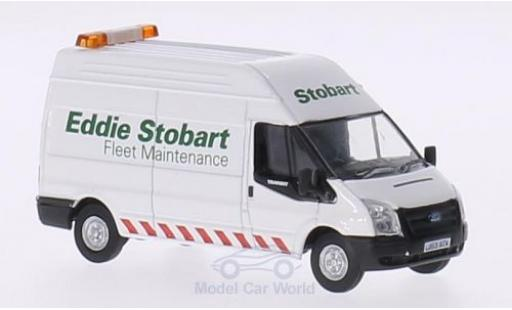 Ford Transit 1/76 Oxford RHD Eddie Stobart Fleet Maintenance LWB High miniature