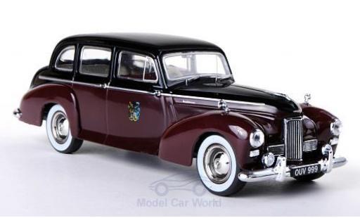 Humber Pullman 1/43 Oxford noire/rouge RHD Rothschild miniature