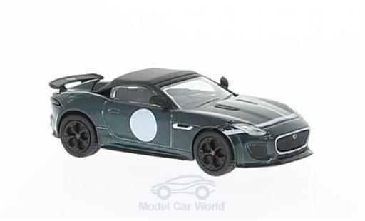 Jaguar F-Type 1/76 Oxford Project 7 verte miniature