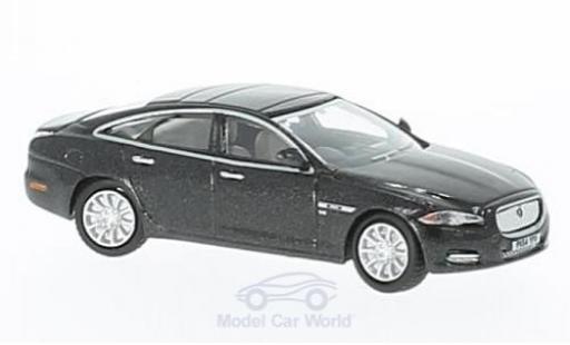 Jaguar XJ 1/76 Oxford black diecast model cars