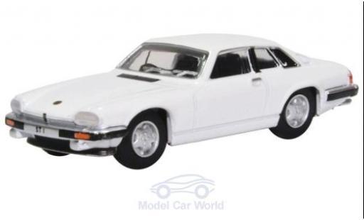 Jaguar XJS 1/76 Oxford blanche The Saint miniature