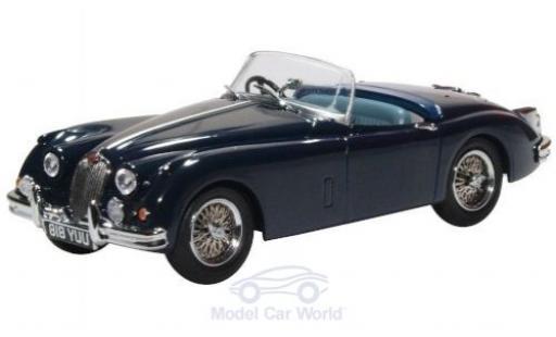 Jaguar XK 1/43 Oxford 150 Roadster bleue RHD miniature