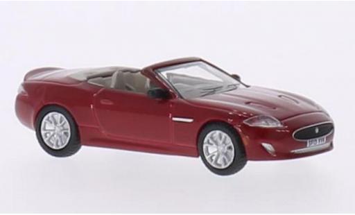 Jaguar XK 1/76 Oxford Convertible rosso RHD modellino in miniatura