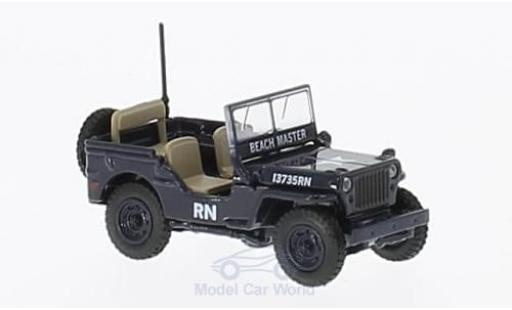 Jeep Willys 1/76 Oxford MB Royal Navy miniature