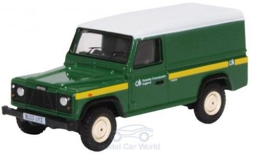 Land Rover Defender 1/76 Oxford Forestry Commission miniature
